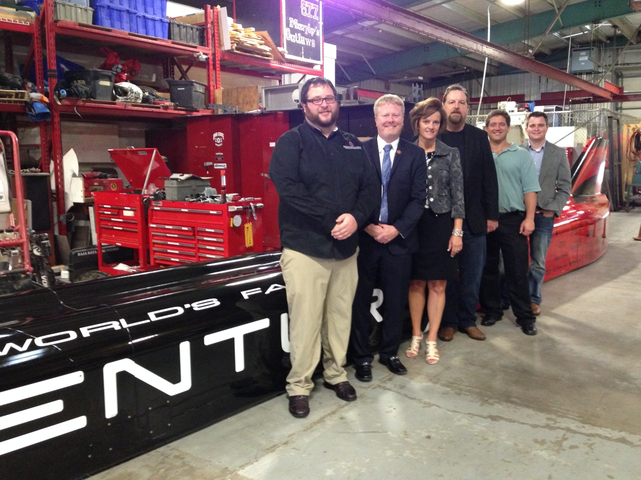 O'Brien tours CAR Technologies in support of alternative fuels