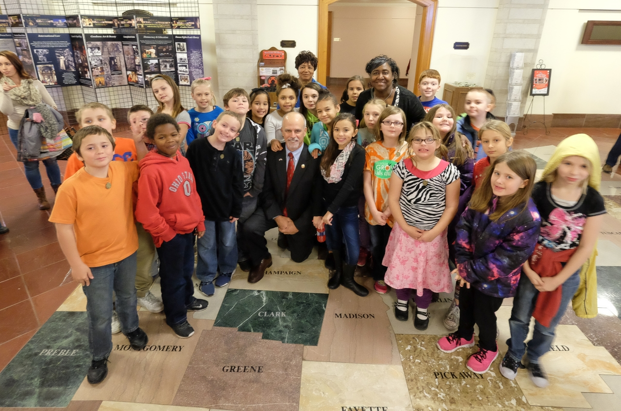 Rep. Koehler Welcomes Local Students to Statehouse