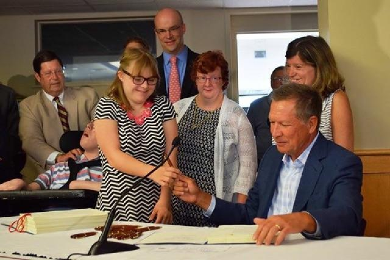 Governor Kasich  Signs Legislation, Changes Terms for People With Intellectual Disability in Ohio Law
